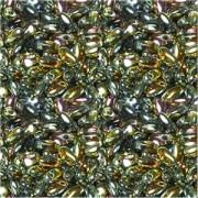 Rizo Glasperlen 2,5x6 mm Crystal Marea ca 25gr