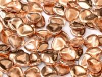 Rose Petal Beads 8x7mm 00030-27101 Crystal Capri Gold ca 80 Stück