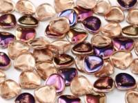 Rose Petal Beads 8x7mm 00030-29500 Crystal Sliperit ca 80 Stück