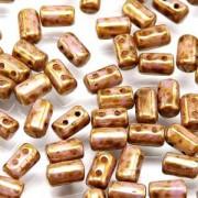 Rulla Beads 3x5mm Senegal Brown Violet ca 10gr