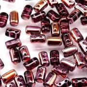Rulla Beads 3x5mm Amethyst Capri Gold ca 10gr
