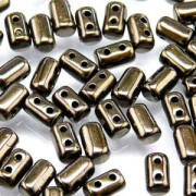 Rulla Beads 3x5mm Luster Jet Copper ca 10gr