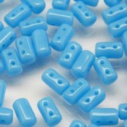 Rulla Beads 3x5mm Turquoise Blue ca 10gr