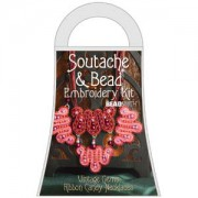 Materialkit Soutache Ribbon Candy Red
