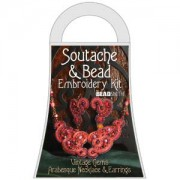 Materialkit Soutache Arabesque Red