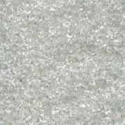 Miyuki Spacer Beads 2,2X1mm Crystal ca 10 gr