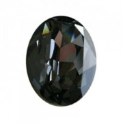 Swarovski Elements Steine Oval 18x13mm Crystal Silver Night F 1 Stück