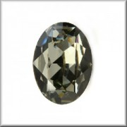 Swarovski Elements Steine Oval 18x13mm Black Diamond F 1 Stück