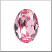 Swarovski Elements Steine Oval 18x13mm Light Rose F 1 Stück