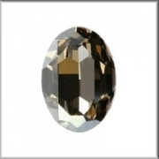 Swarovski Elements Steine Oval 30x22mm Crystal Golden Shadow beschichtet F 1 Stück