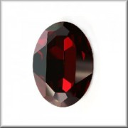 Swarovski Elements Steine Oval 30x22mm Crystal Red Magma F 1 Stück