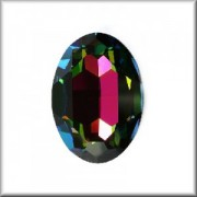 Swarovski Elements Steine Oval 30x22mm Crystal Vitrail Medium F 1 Stück
