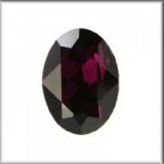 Swarovski Elements Steine Oval 30x22mm Amethyst beschichtet F 1 Stück