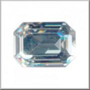 Swarovski Elements Steine Rechteck 18x13mm Crystal F 1 Stück