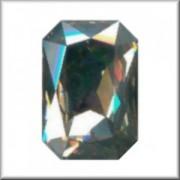 Swarovski Elements Steine Rechteck 27x18,5mm Crystal Silver Shade F 1 Stück