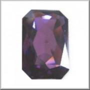 Swarovski Elements Steine Rechteck 27x18,5mm Amethyst F 1 Stück