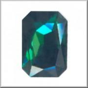 Swarovski Elements Steine Rechteck 27x18,5mm Emerald F 1 Stück