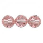 Swarovski Elements Perlen Kugeln 6mm Light Rose 10 Stück