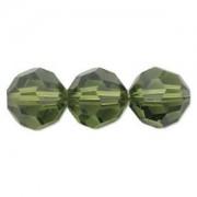 Swarovski Elements Perlen Kugeln 6mm Olivine 10 Stück