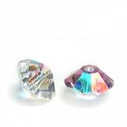 Swarovski Elements Perlen Bicones Elegant 5mm Crystal AB beschichtet 10 Stück