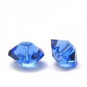 Swarovski Elements Perlen Bicones Elegant 5mm Sapphire 10 Stück