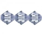 Swarovski Elements Perlen Bicones 4mm Provence Lavender 100 Stück