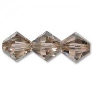 Swarovski Elements Perlen Bicones 4mm Greige 50 Stück