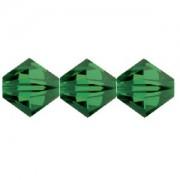 Swarovski Elements Perlen Bicones 4mm Fern Green 100 Stück