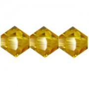 Swarovski Elements Perlen Bicones 4mm Sunflower 100 Stück