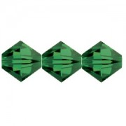 Swarovski Elements Perlen Bicones 6mm Fern Green 50 Stück