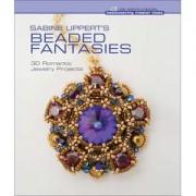 Perlenbuch Beaded Fantasies by Sabine Lippert Hardcover englischsprachig