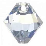 Swarovski Elements Anhänger Bicones 8mm Top drilled Crystal Blue Shade 2 Stck