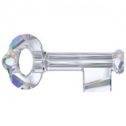 Swarovski Elements Key Crystal AB 50mm 1Stueck