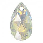 Swarovski Elements Anhänger Pear Pendant 28mm Crystal AB