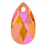 Swarovski Elements Anhänger Pear Pendant 28mm Crystal Astral Pink
