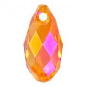 Swarovski Elements Anhänger Tropfen 11x5,5mm Crystal Astral Pink