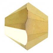 Swarovski Elements Perlen Bicones 3mm Crystal Aurum 2X beschichtet 50 Stück