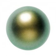 Swarovski Elements Perlen Crystal Pearls 4mm Iridescent Green Pearls 100 Stück