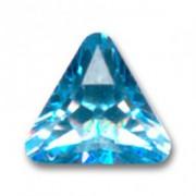 Swarovski Elements Steine Dreieck 10mm Aquamarine F 1 Stück