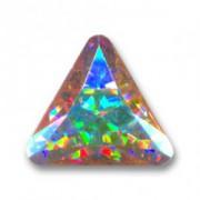 Swarovski Elements Steine Dreieck 10mm Crystal AB beschichtet F 1 Stück