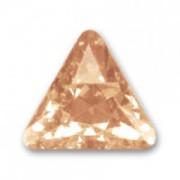 Swarovski Elements Steine Dreieck 10mm Crystal Golden Shadow beschichtet F 1 Stück
