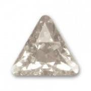 Swarovski Elements Steine Dreieck 10mm Crystal Silver Shade beschichtet F 1 Stück