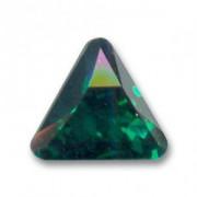Swarovski Elements Steine Dreieck 10mm Emerald F 1 Stück