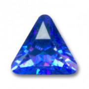 Swarovski Elements Steine Dreieck 10mm Sapphire F 1 Stück