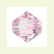 Swarovski Elements Perlen Bicones 3mm Rosaline 100 Stück