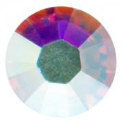 Swarovski Elements flache Steine SS6 Crystal AB foiled 10 Stück