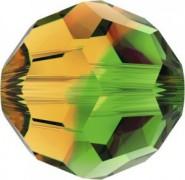 Swarovski Elements Perlen Kugeln 8mm Fern Green Topaz Blend