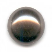 Swarovski Elements Perlen Crystal Pearls 6mm Brown Pearls halb gebohrt flach 10 Stück