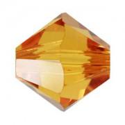 Swarovski Elements Perlen Bicones 3mm Topaz 100 Stück