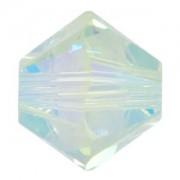 Swarovski Elements Perlen Bicones 4mm Chrysolite AB 2X beschichtet 100 Stück